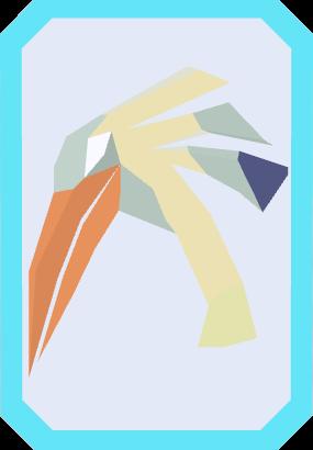 File:Preening ibis card (solo) detail.png