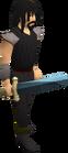 Rune longsword equipped old