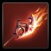 Scorching axe icon