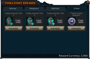 Tuska Event Rewards (Other)