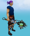 Augmented Akrisae's war mace equipped.png