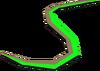 Criminal's thread (green) detail