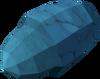 Crystal acorn detail
