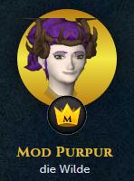 Jagex-Moderator Mod Purpur Avatar