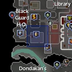 Klaas (non-exile) location