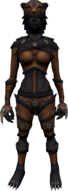 Lion outfit equipped (female)