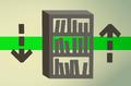 Oak bookcase (flatpack) detail.png