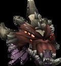 Queen Black Dragon Head Detail