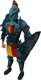 Rune heraldic armour set 5 (lg) equipped