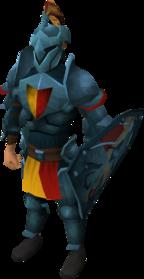Rune heraldic armour set 5 (lg) equipped