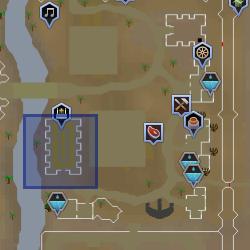 Sumo Sacerdote (Sophanem) mapa