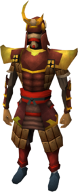 Tetsu armour set equipped (male)