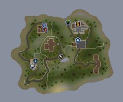 Tutorial Island map