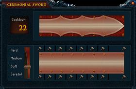 Ceremonial sword plans (bronze)