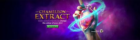 Chameleon Extract head banner