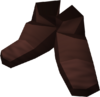 Dark mystic boots detail