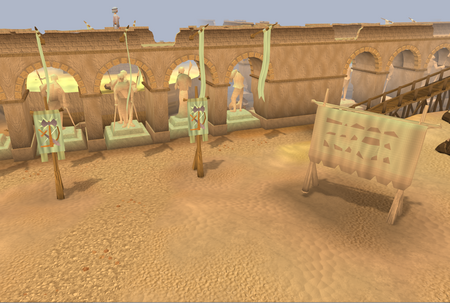 Duel Arena banners old