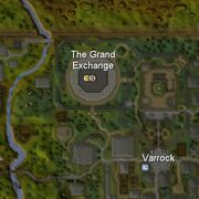 Grand exchange atrasanas vieta