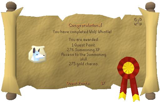 Wolf Whistle Reward