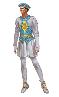 Ancient outfit (male) news image