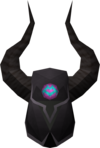 Black helm (h1) detail