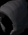 Black hood detail