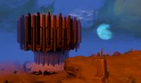 Bonfire skybox