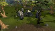 Earth Altar outside