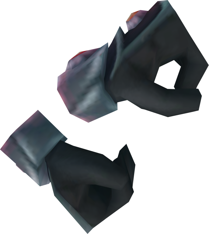 Gloves of passage are tier 85 melee