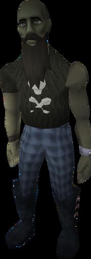 Jonny the Beard zombie