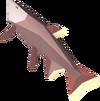 Leaping salmon detail