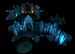 Lletya well cave