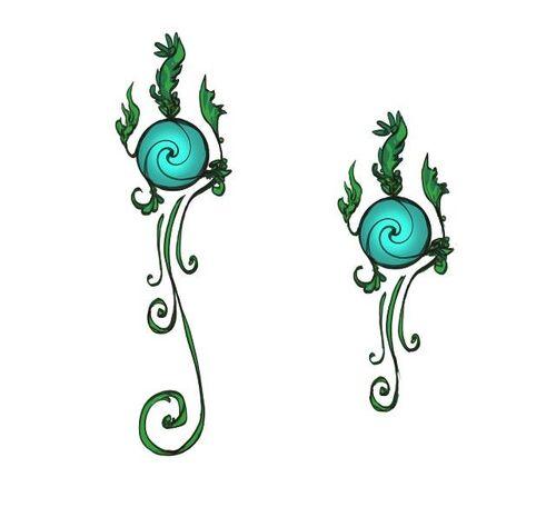Meilyr clan symbol concept art