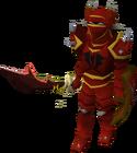 Mercenary warrior old