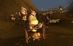 Ogros Mortos-Vivos detalhe