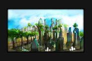Prifddinas concept art