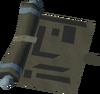 Staff blueprints detail