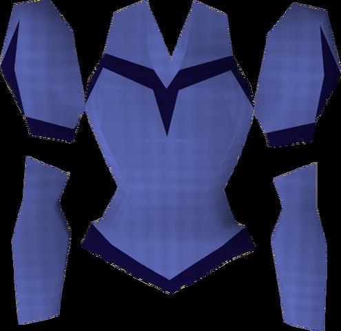 File:Blue elegant blouse detail.png