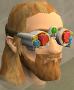 Chrome goggles chathead
