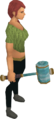 Crystal hammer equipped.png