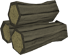 Cursed willow logs detail