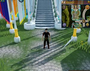 Emote clue Salute Max Guild garden