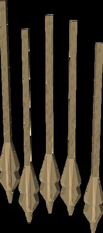File:Headless arrow (Dungeoneering) detail.png