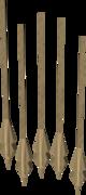 Headless arrow (Dungeoneering) detail
