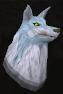 Lobo espiritual cabeça