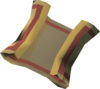 Mysterious clue scroll detail