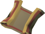 Mysterious clue scroll