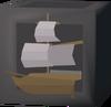 Royal battleship kit detail