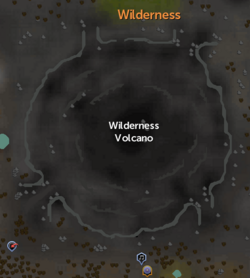 Wilderness Volcano map