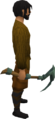 Adamant pickaxe equipped.png